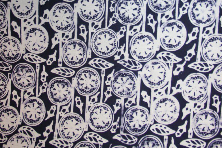 Batik Kudus Motif Badminton