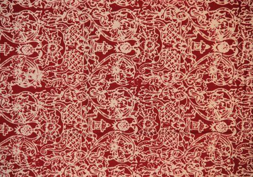Batik Kudus Motif Ukir Gebyok