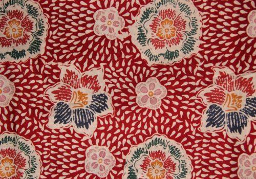 Batik Kudus Motif Keras Tumpah