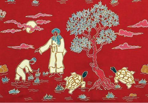Batik Kudus Motif Legenda Bulusan